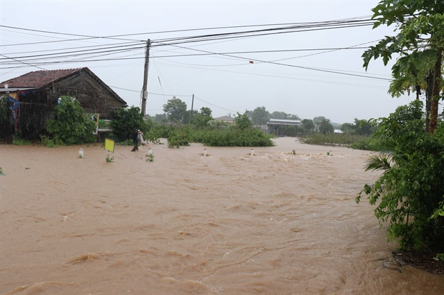 Heavy rains flooding hit Central Highlands provinces