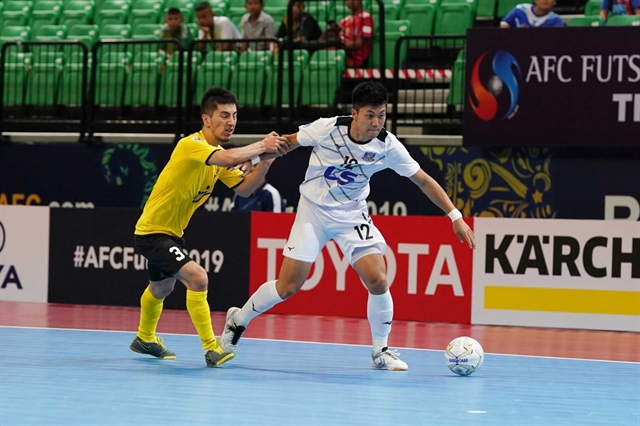 Thái Sơn Nam beat AGMK inAFC Futsal Club Championship