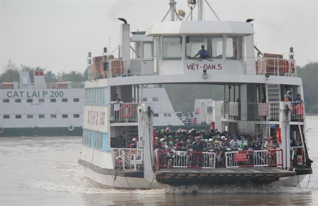Ferries linking Cần Giờ Vũng Tàu to start this year