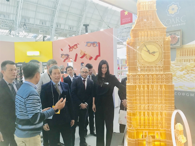 Vietnamese handicraft-makers display goods at UKs leading international design-led event