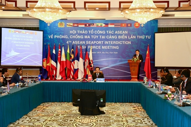 ASEAN nations boost co-operation in fighting drug trafficking at sea