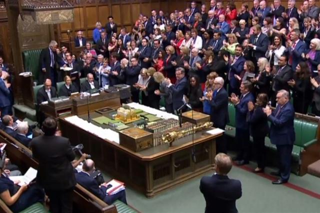 Outgoing parliament deals new Brexit blow to British PM