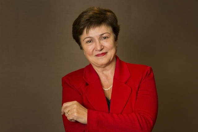 World Banks Georgieva poised to become 2nd female IMF chief