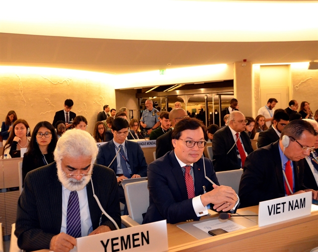 Việt Nam attends UNHRCs 42nd session on climate change