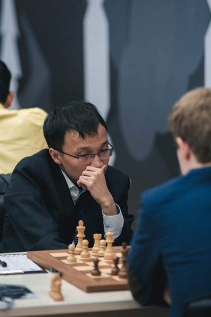 GM Liêm Sơn draw first matches of World Cup