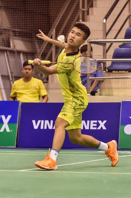 Qualifier Đăng through to Vietnam Open second round