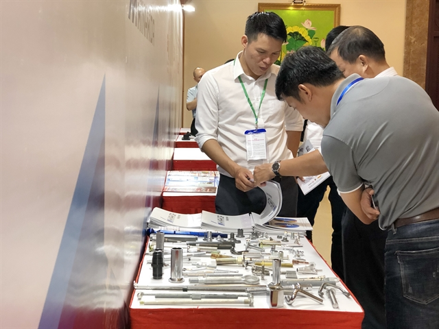 HCM City fair brings together supporting industries manufacturers