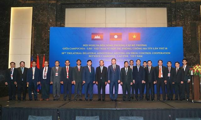 VN Cambodia Laos enhancedrug control co-operation