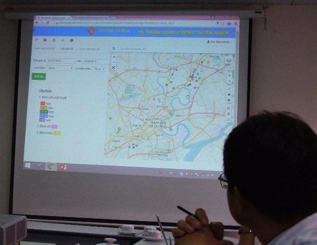 ​​​​​​​HCM City begins to integrate all administrative data into common-use digital map