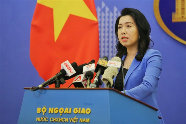 Việt Nam opposes Chinas disruption of oil and gas activities