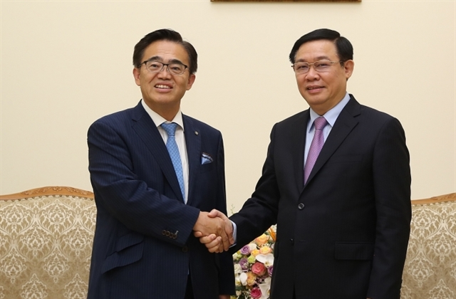 Deputy PM receives Governor of Japans Aichi prefecture
