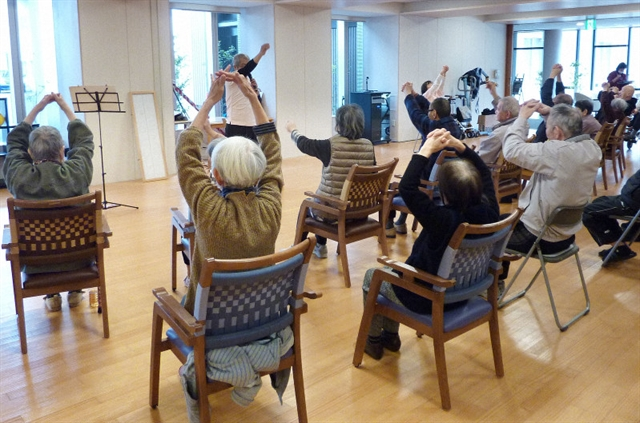 Centenarians top 70000 in Japans graying population