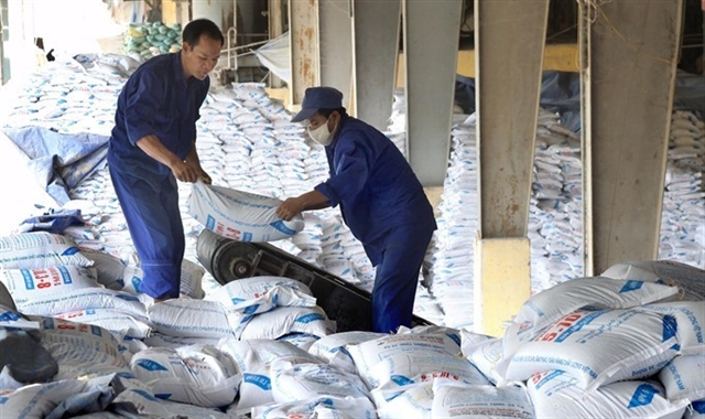 Fertiliser stocks nosedive on difficulties