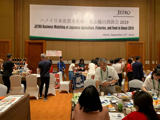 JETRO helps connect farming food companies of Japan Việt Nam