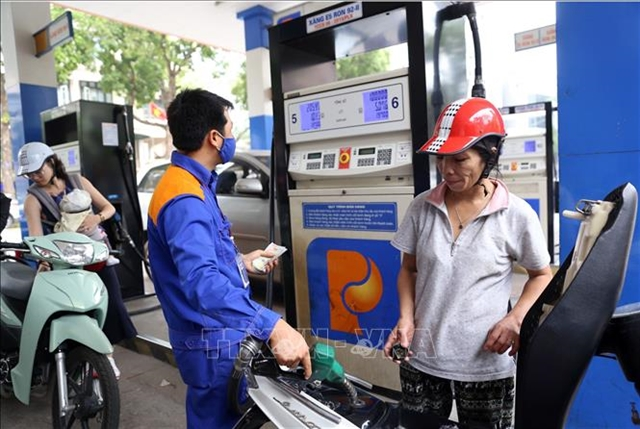 Petrol price slightly drop