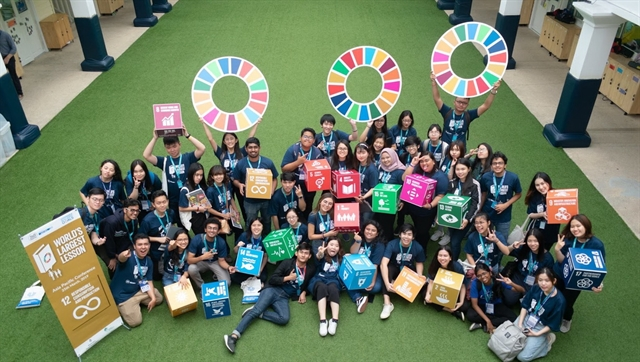 Worlds Largest Lesson on sustainabilitycomes to Việt Nam