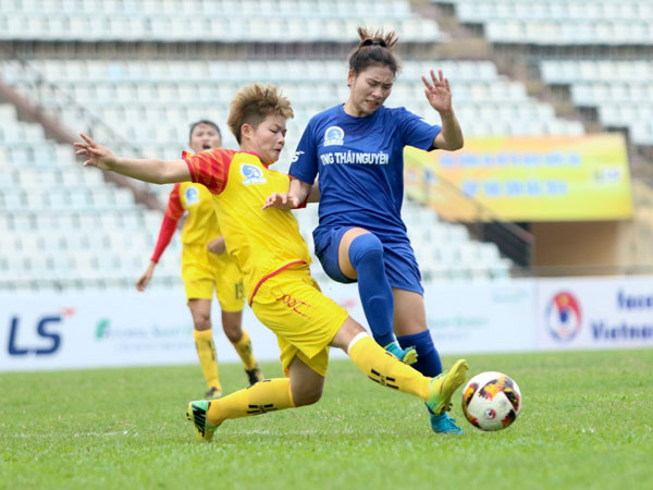 Sơn La beat Thái Nguyên at national womens football champs