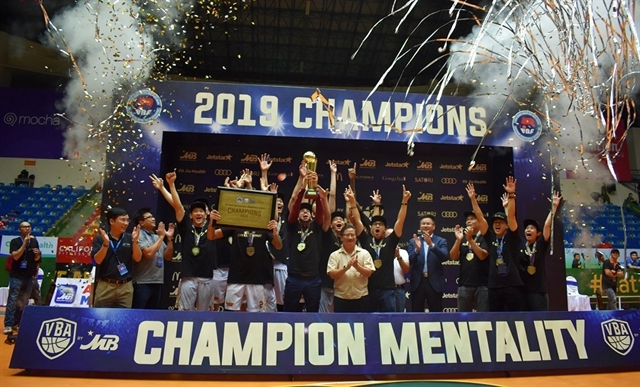 Saigon Heat lift VBA title for the first time
