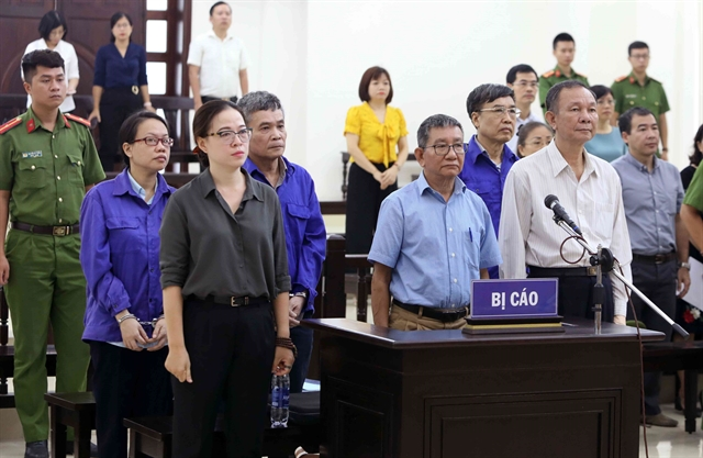First trial held for former VSS leaders