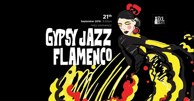 'Gypsy Jazz Flamenco Night at Cool Cats Jazz Club
