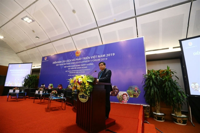 Vietnam Reform andDevelopment Forum opens in Hà Nội