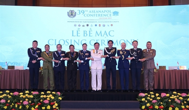 39th ASEAN Chiefs of Police Conference wraps up