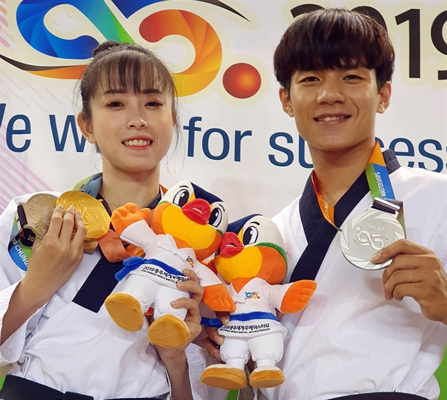 Việt Nam win silver medal at Chungju World Martial Arts event