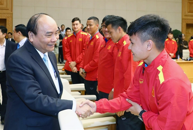 PM Phúc wishes players well for World Cup qualifier