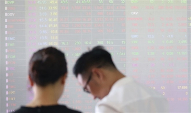 VN stocks change little with increased selling