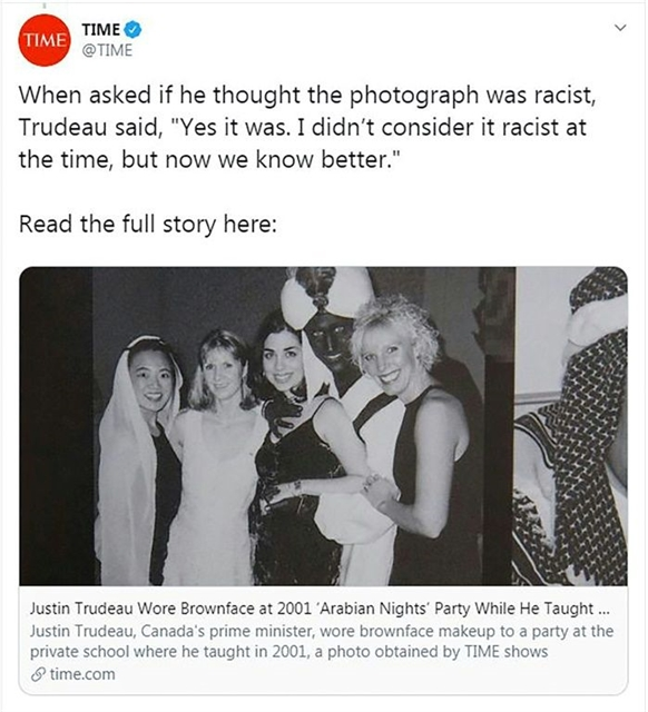Trudeau apologises again for wearing blackface as new images emerge
