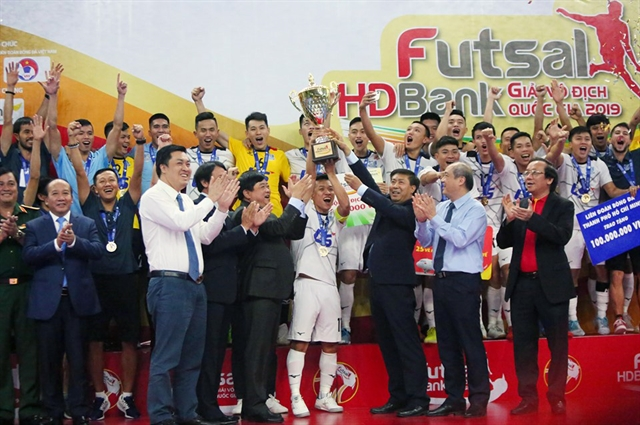 Thái Sơn Nam triumph in national futsal tournament