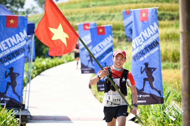 Hùng wins Việt Nams biggest mountain race