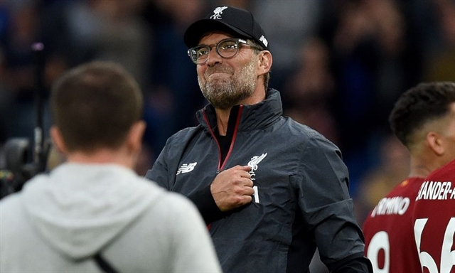 We fight for everything: Klopp salutes Liverpools perfect start