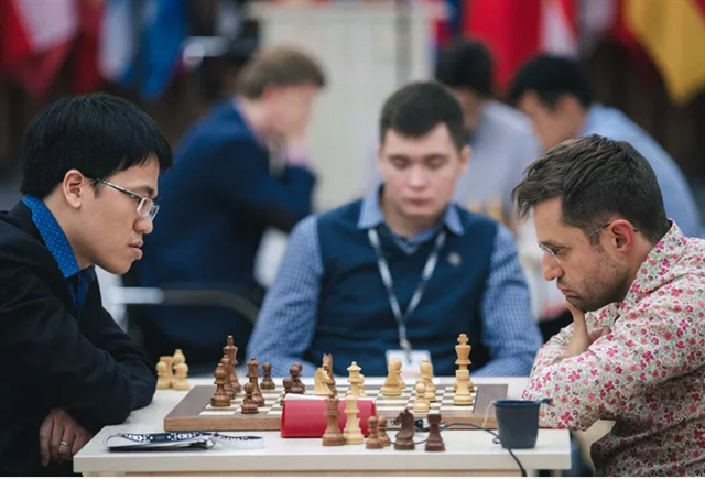 Liêm out of FIDE World Cup after fourth round