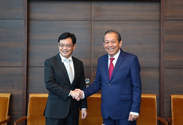 Deputy PM pays official visit to Singapore