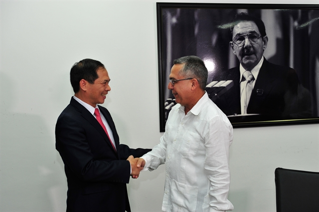 Việt Nam Cuba hold fifth political consultation