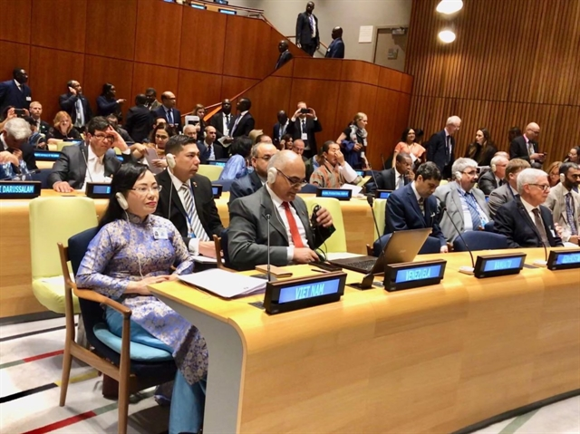 Minister Tiến shares Việt Nams health achievements at UN meeting