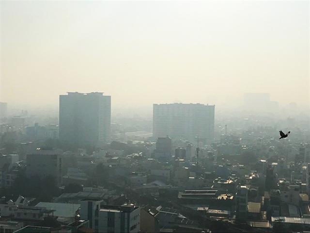 Meteorologists debatecause of fog inHCM City