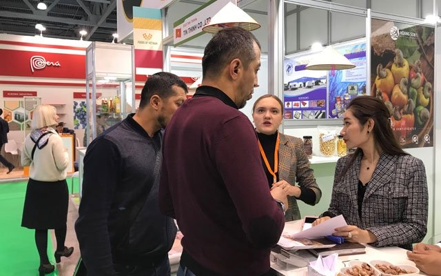 Vietnamese firms join intt food fair in Russia.