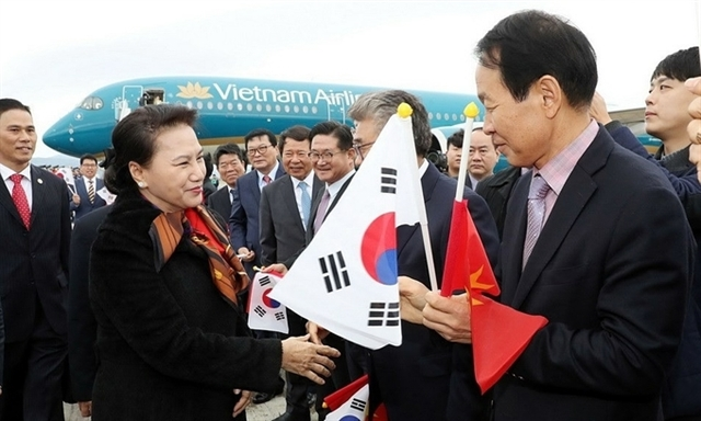 Nine Vietnamese on NA Chairwomans trip to South Korea absconded