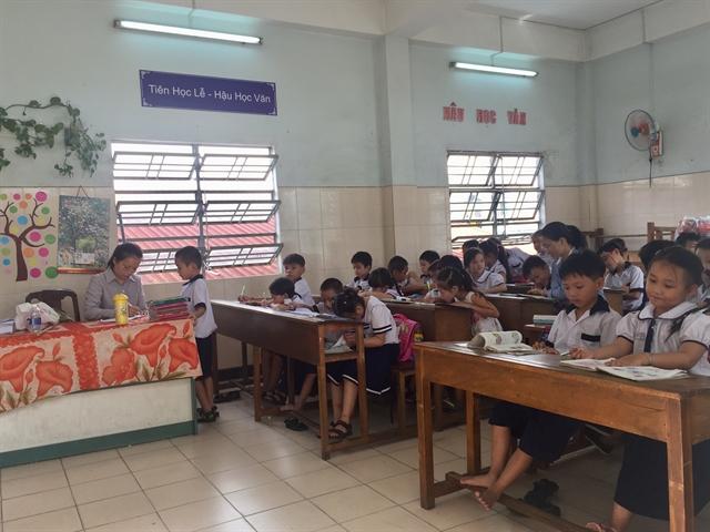 HCM City prepares for new school training programme curriculum