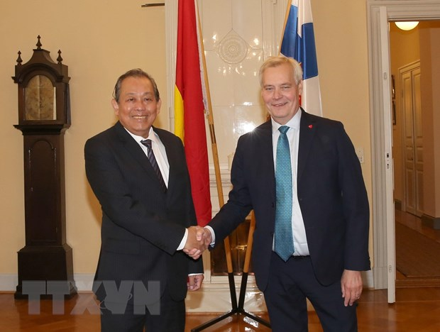 Deputy PM: Việt Nam wishes to develop partnership with Finland