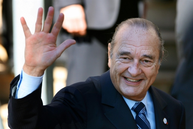 Condolences over passing of ex-President of France