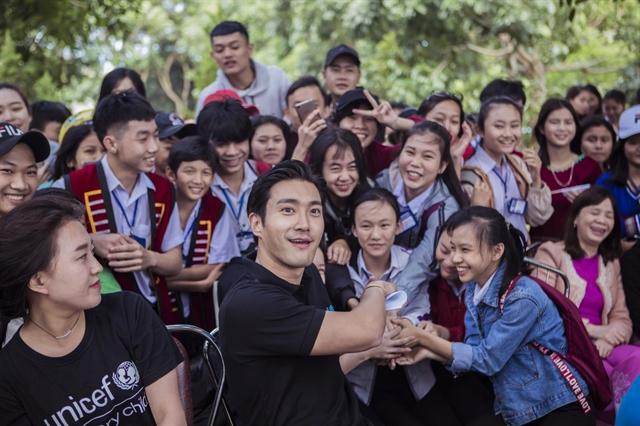 Korean celebsjoin UNICEF to stop bullying in Việt Nam