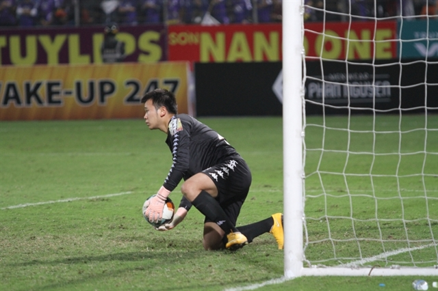 Keeper Công ruled out of AFC Cup Inter-zonal Final