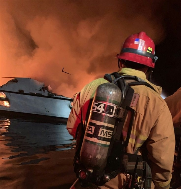 Eight dead 26 missing as dive boat sinks in flames off California