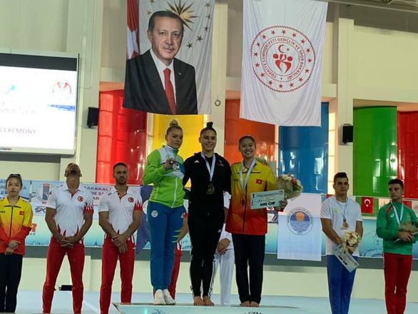 Việt Nam win two medals at World Gymnastics Cup