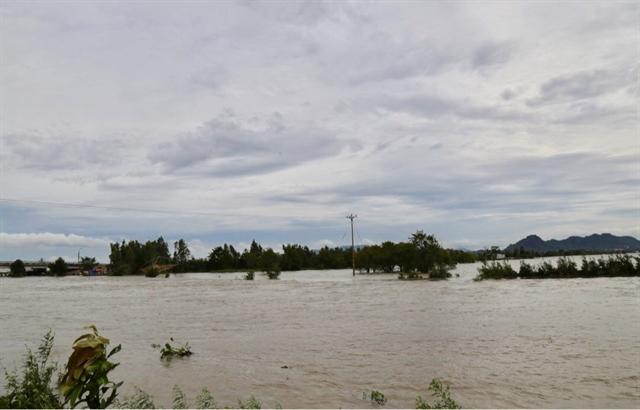 Mekong Delta river levels to peak next month