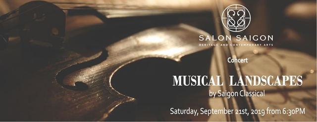 Classical Musical Landscape night at Saigon Salon