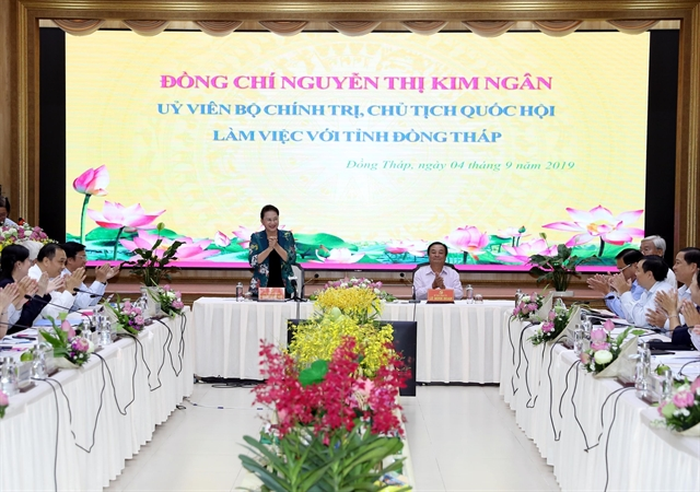 NA Chairwoman lauds Đồng Tháps agriculture rural development